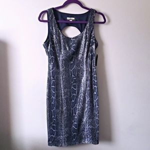 NWT Muse for Boston Proper Sequin Mini Snake Dress